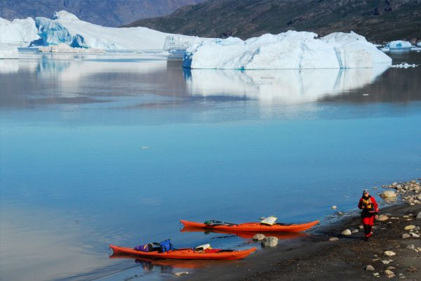 greenland kayaking icebergs fiords
