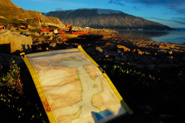 greenland sea kayaking expedition campsite