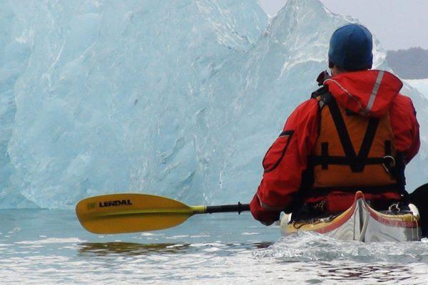 patagonia kayaking iceberg san rafael