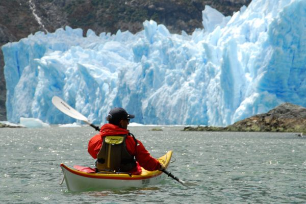 kayak patagonia glaciers